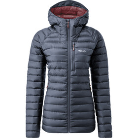 Rab Microlight Alpine Long Jacket Women, steel